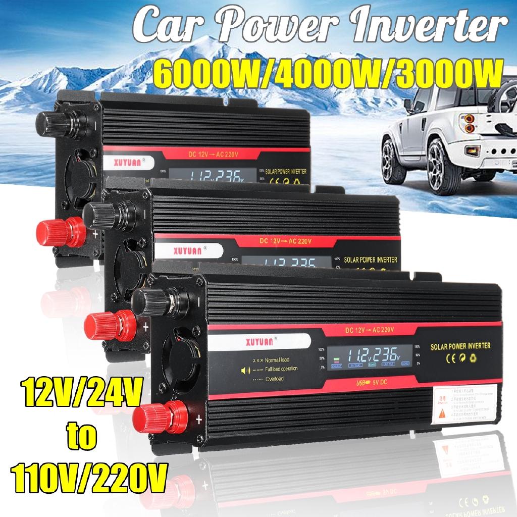 Solarenergie 2000w Max 4000w 12v-220v Power Pure Sine Wave Inverter Car Caravan Camping Boaiy Wechselrichter