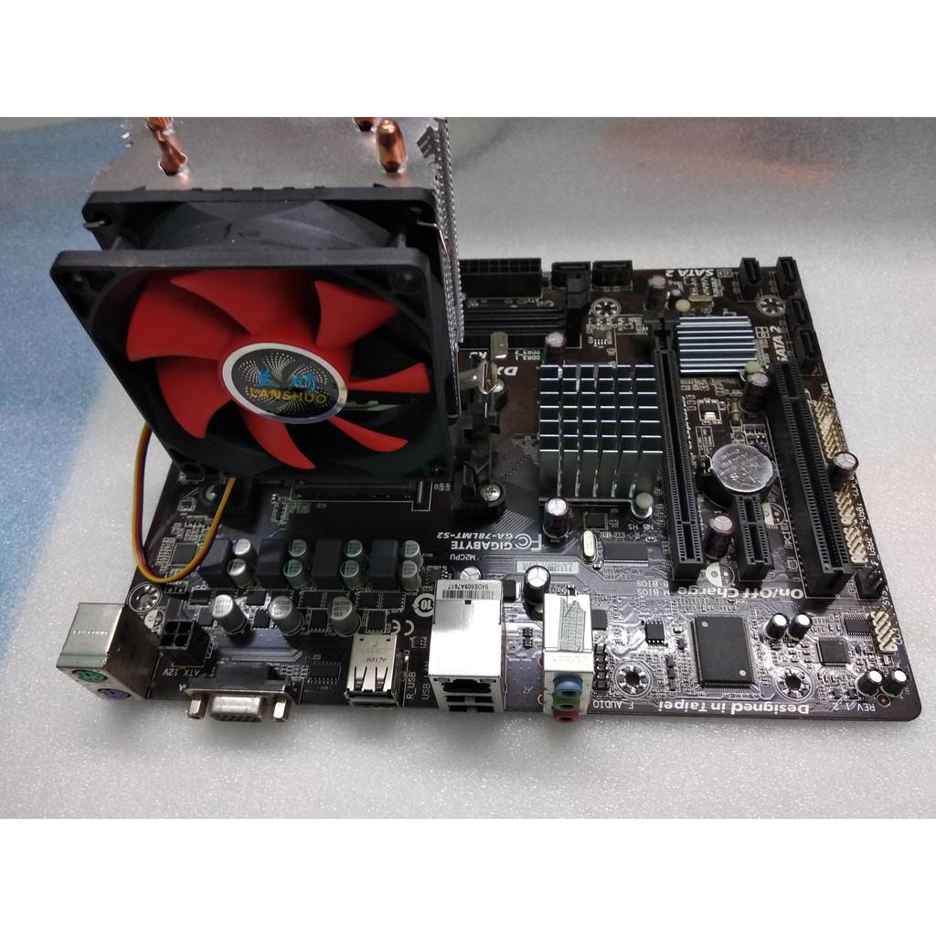 Gaming Combo AMD 4-Core CPU + Gigabyte 780 AM3+ Mobo