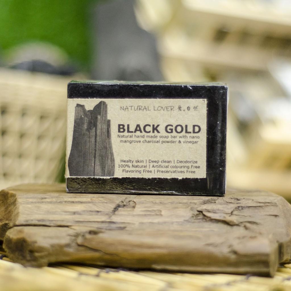BLACK GOLD Handmade Charcoal Soap 120gm | Shopee Malaysia