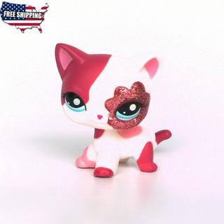 Lps 1170 Littlest Pet Shop Brown Cat Blue Eyes Kitty 1024 Caramel