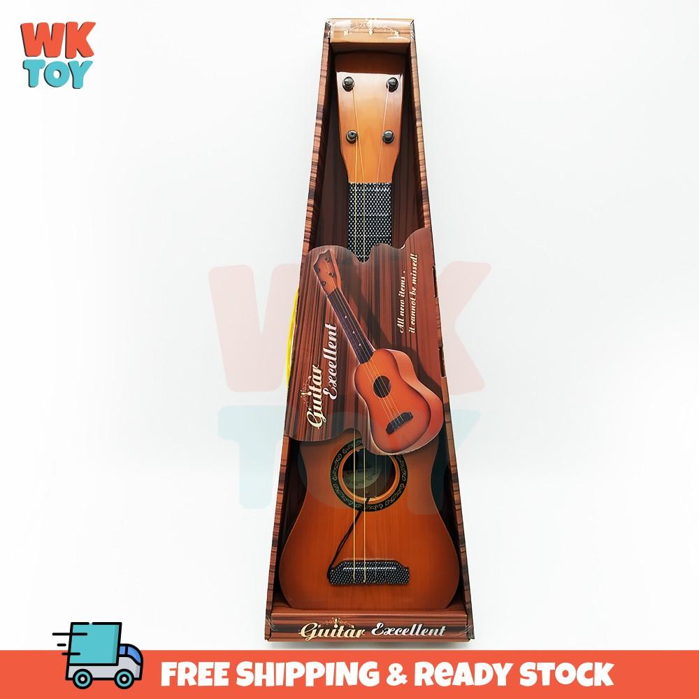 WKTOY 21 inch Hawaiian Guitar 4 Strings Beginners kid Gift +strings+pick