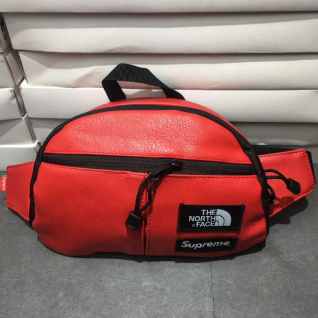 5770c08db [READYSTOCK]pouch bag the north face x supreme cross bag