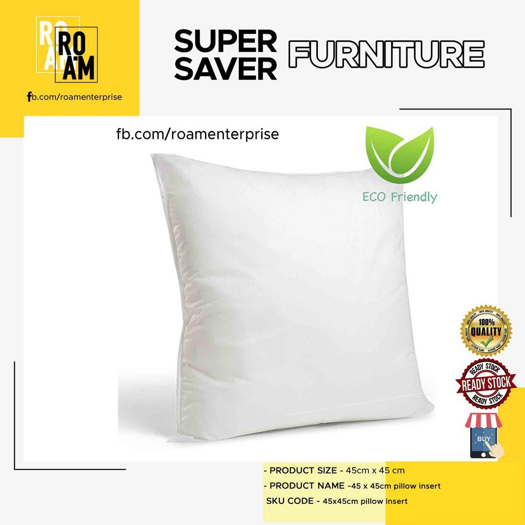 45x45cm pillow insert cushion polyester pillow insert