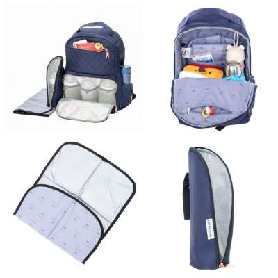 Princeton: Milano 2.0 Diaper Bag - Blue