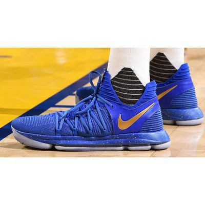 new concept 79720 fd737 Nike Durant 10 All star KD10 blue Male basketball shoes