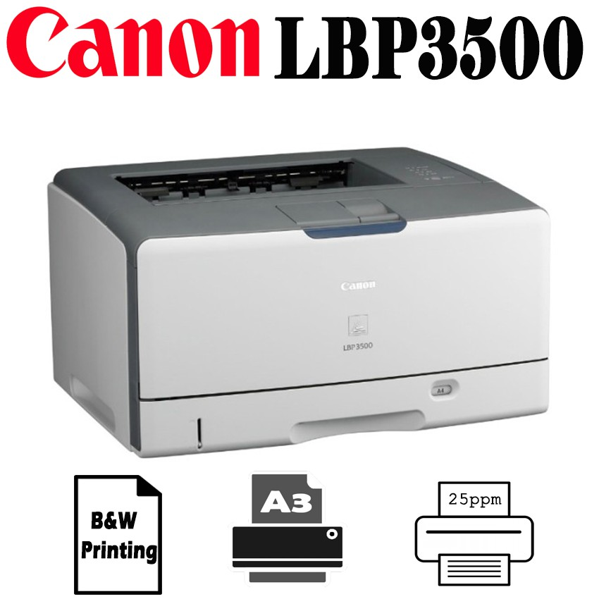 DRIVER: CANON LBP3500 PRINTER