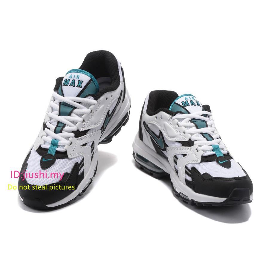 e04af61bad Nike Air Max 96 II XX White/Mystic Teal-Black | Shopee Malaysia