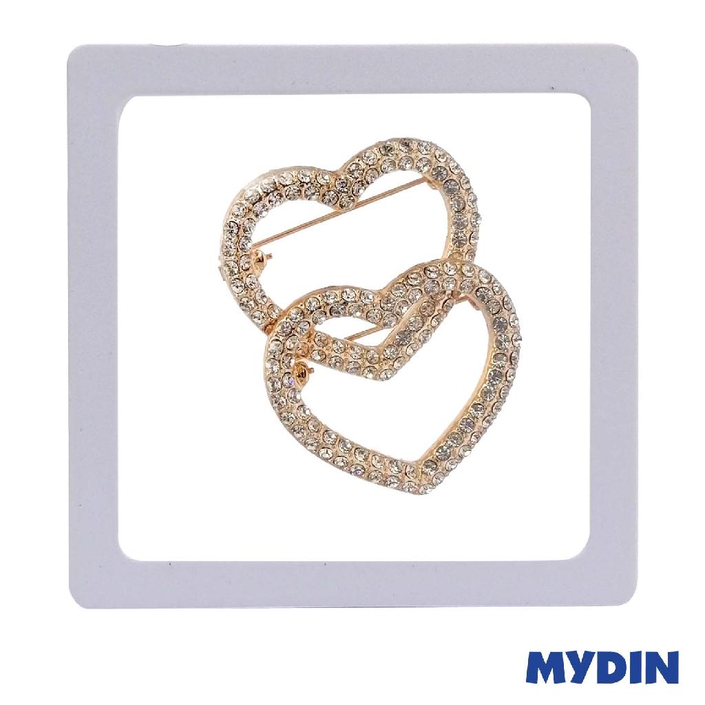 Brooch - Rose Gold (2 Pcs) SABPSB4D-9 #Raya
