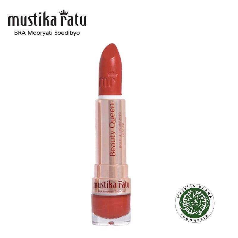 Mustika Ratu Beauty Queen Bold & Nourishing Lipstick - 09 Stunning Sepia (4g)