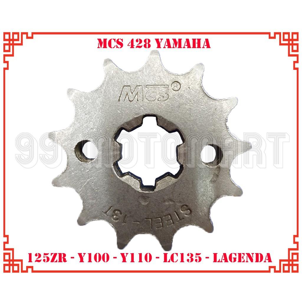 RKM Sprocket RXZ 415 x 14T~16T LC135 125ZR Y100 Y110 SRL110