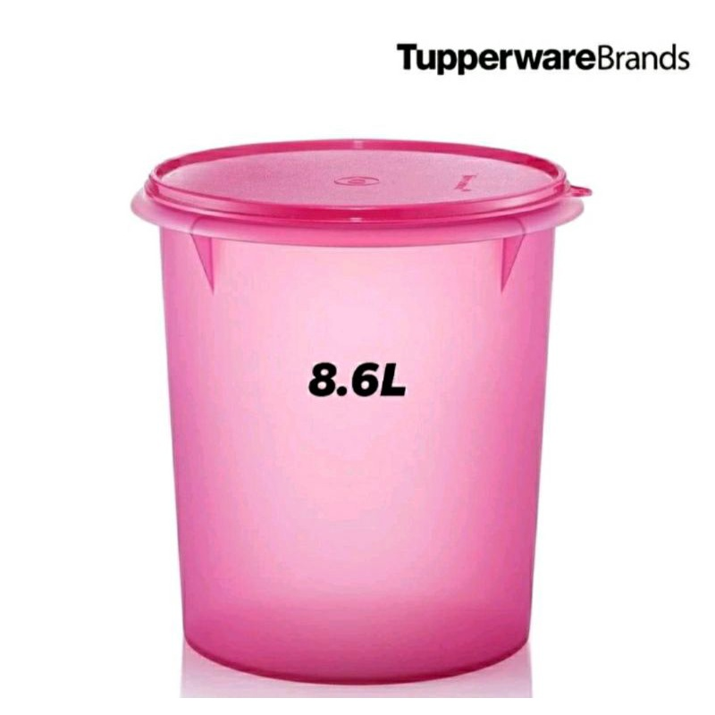 TUPPERWARE TALL CANISTER 10L / GIANT CANISTER 8.7L 1PC