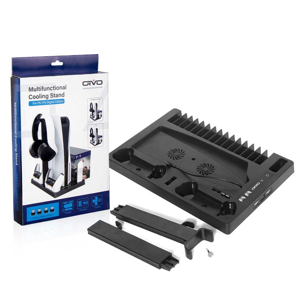 PS5/PS5 DIGITAL PLAYSTATION 5 MULTIFUNCTIONAL COOLING STAND