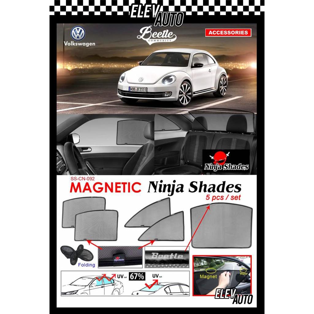 Volkswagen Beetle (2012) Ninja Shades OEM Magnetic Sunshade