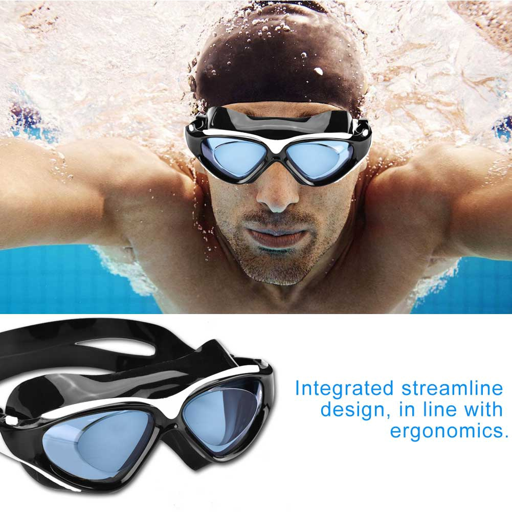 d74a799d11d WHALE ADULT PROFESSIONAL SWIMMING WATER RESISTANT ANTI FOG SILICONE GOGGLES