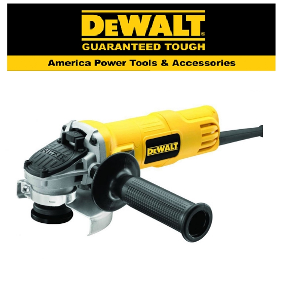 READY STOCK!! DEWALT DWE8210PL-XD IRONMAN MP SAG 850W 100MM PADDLE 4'' SMALL ANGLE  GRINDER TOOL EASY USE SAFETY QUALITY