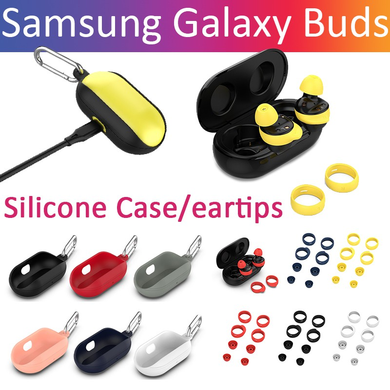 Samsung Galaxy Buds Earphone case eartips soft silicone Protective Case  Cover accessories