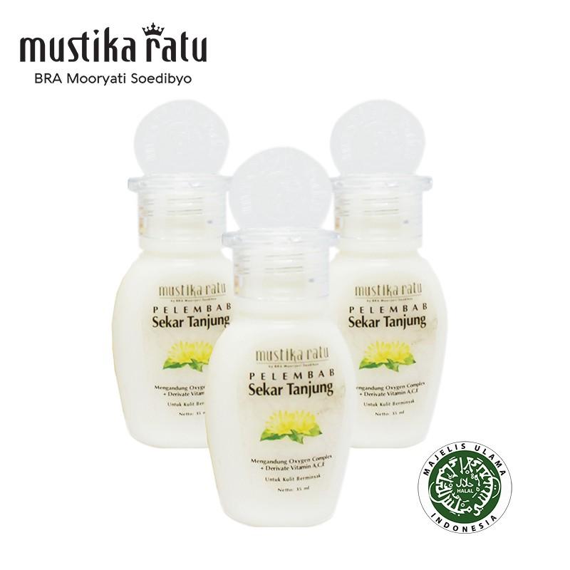 Mustika Ratu Pelembab Sekar Tanjung for Oily Skin (kulit berminyak) 35ml x 3 bottle
