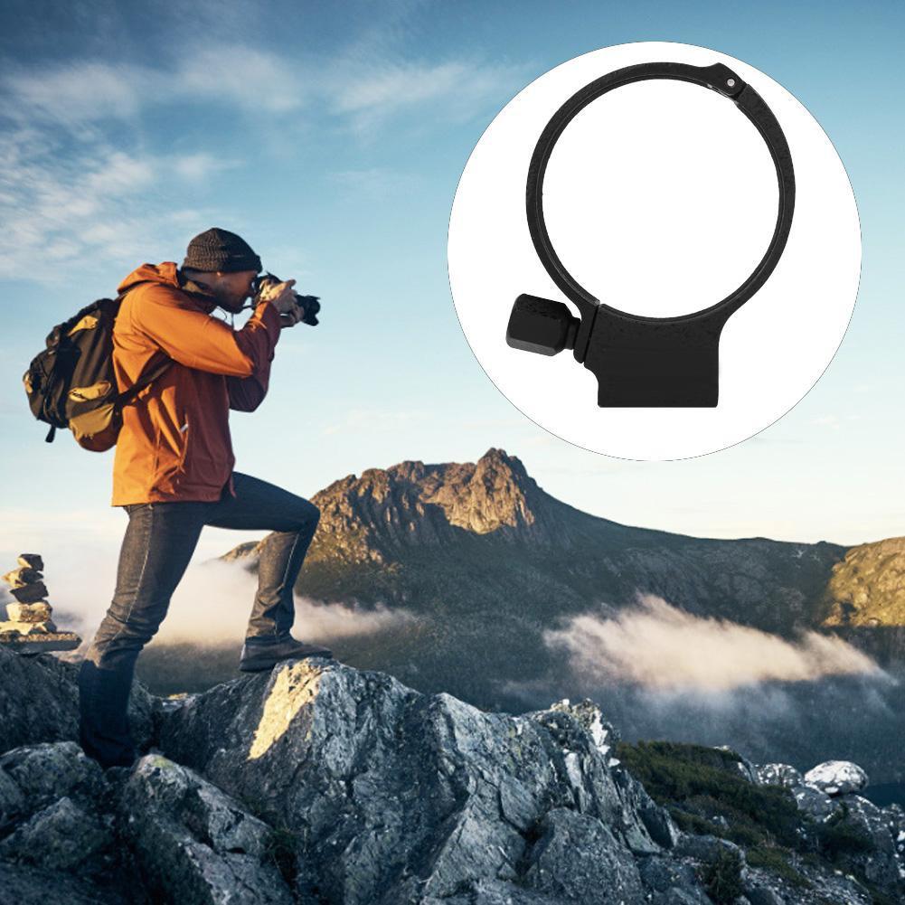 Black Aluminum Alloy Cameras Lens Tripod Mount Collar Ring for Nikon f2.8 AFS