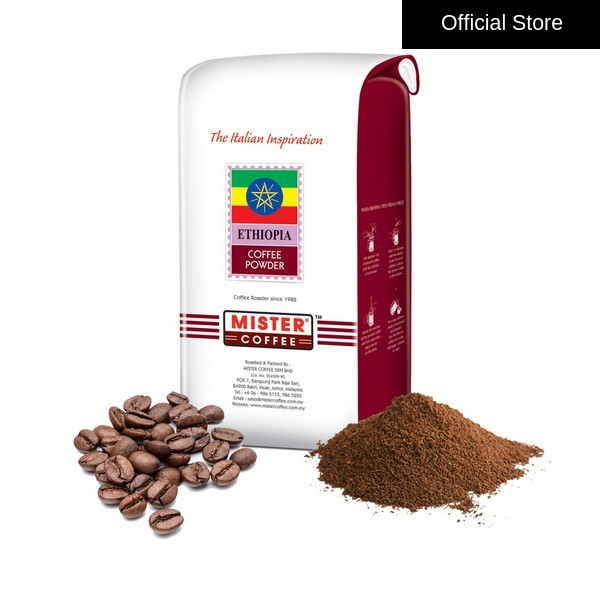 [Mister Coffee] Coffee Bean / Ground Coffee - Ethiopia (500g)