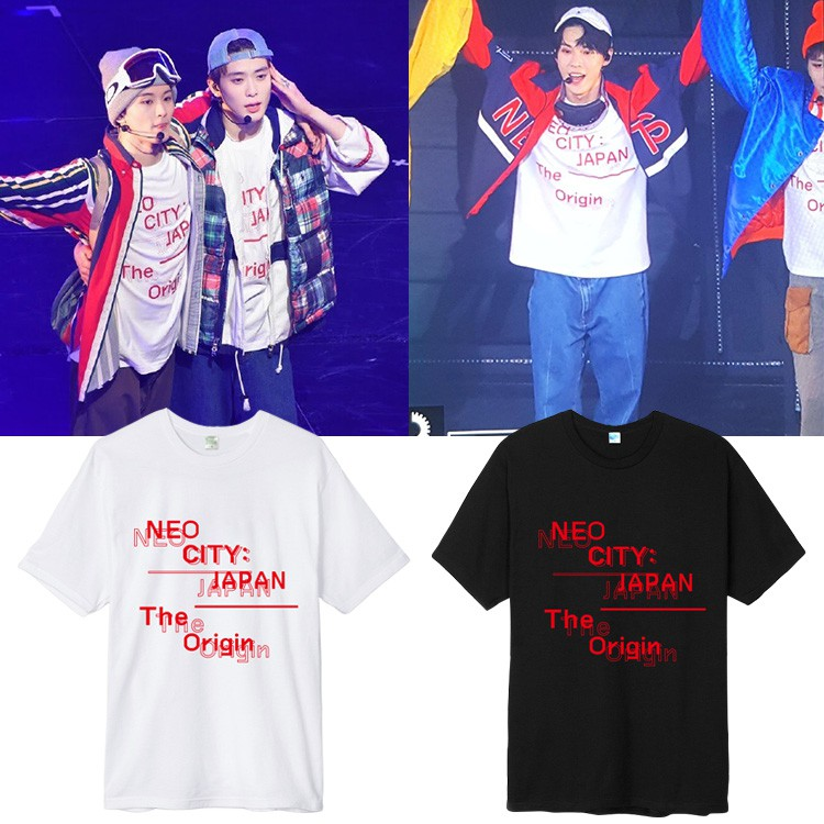 NCT127 T-Shirts Concert IN NEO CITY SEOUL Loose Cotton Unisex Shirts Top Kpop