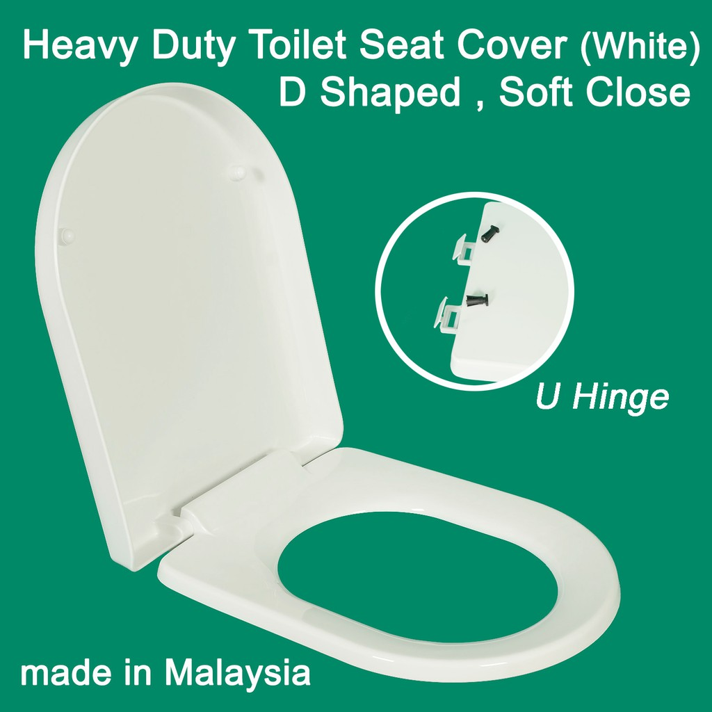 Amazing Heavy Duty Soft Close Toilet Seat Cover D Shaped U Hinge Gmtry Best Dining Table And Chair Ideas Images Gmtryco