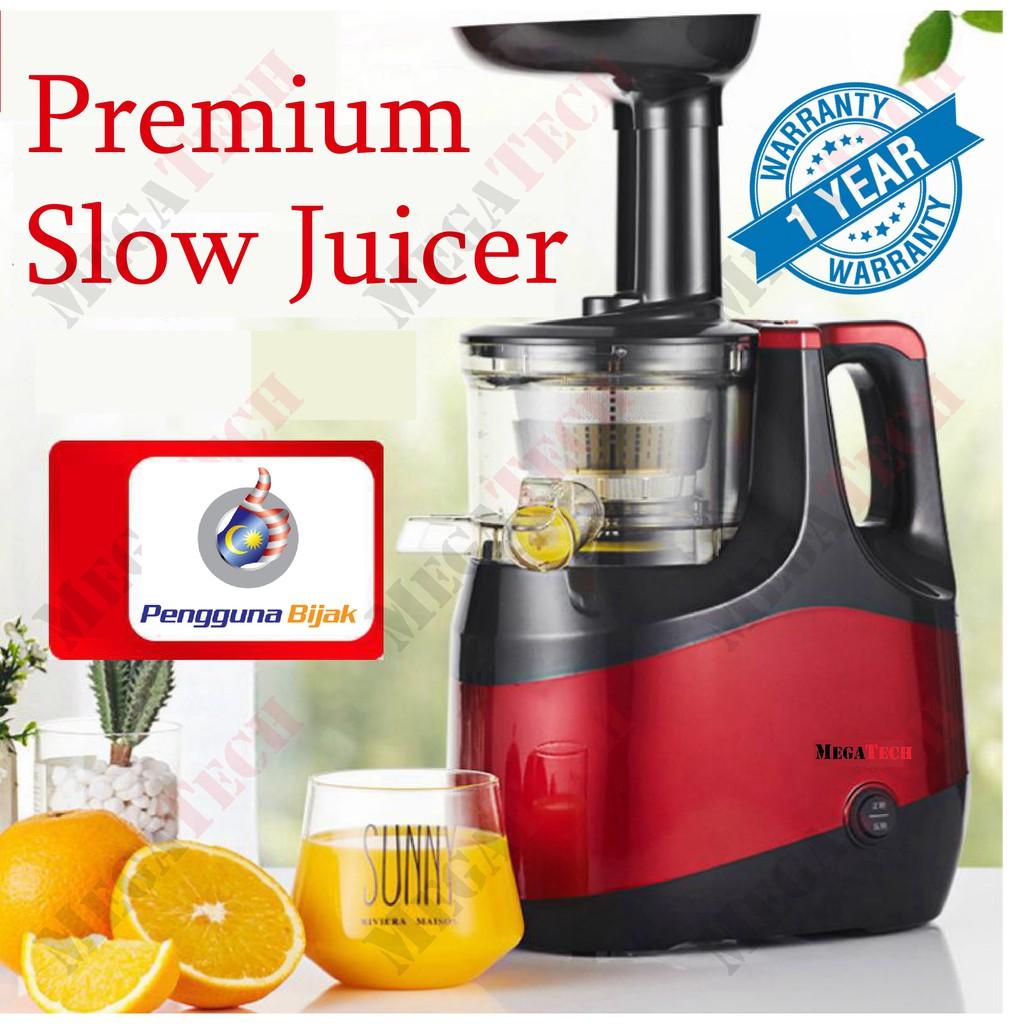Slow Juicer SJ 150S M (Metallic Red)