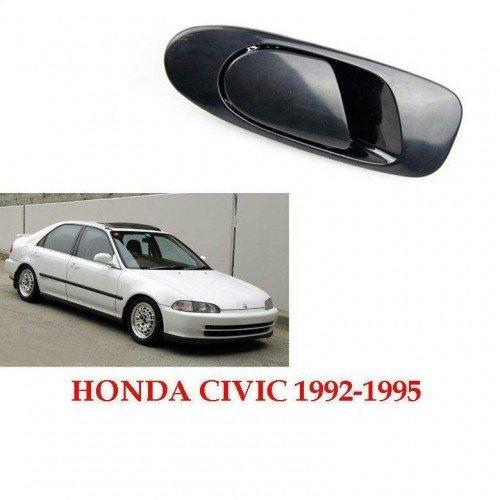 Door Handles Outside Exterior Rear LH /& RH Pair Set for 92-95 Honda Civic Sedan