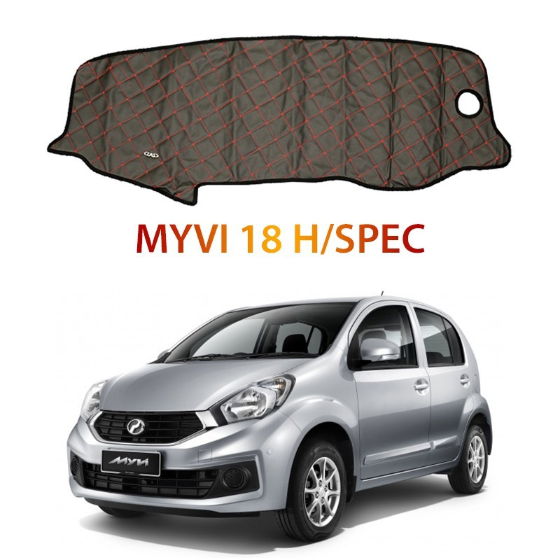 Perodua Myvi 18 H/Spec DAD Non Slip Car Dashboard Cover Dash Mat