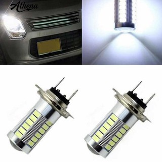 Athena285 H7 5630 33SMD Car Bright LED Headlight Fog Lamp DRL Daytime  Running Light Bulb