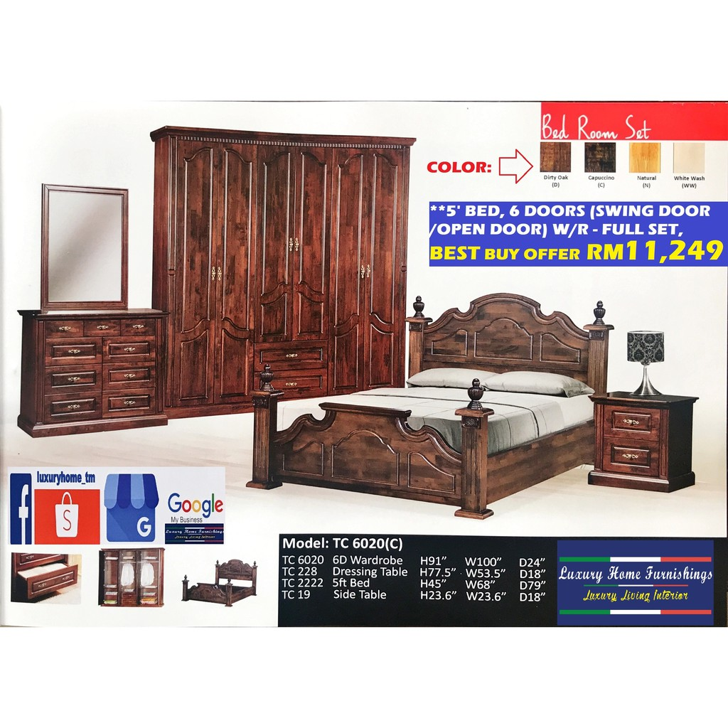 BED ROOM SET COLLECTION I
