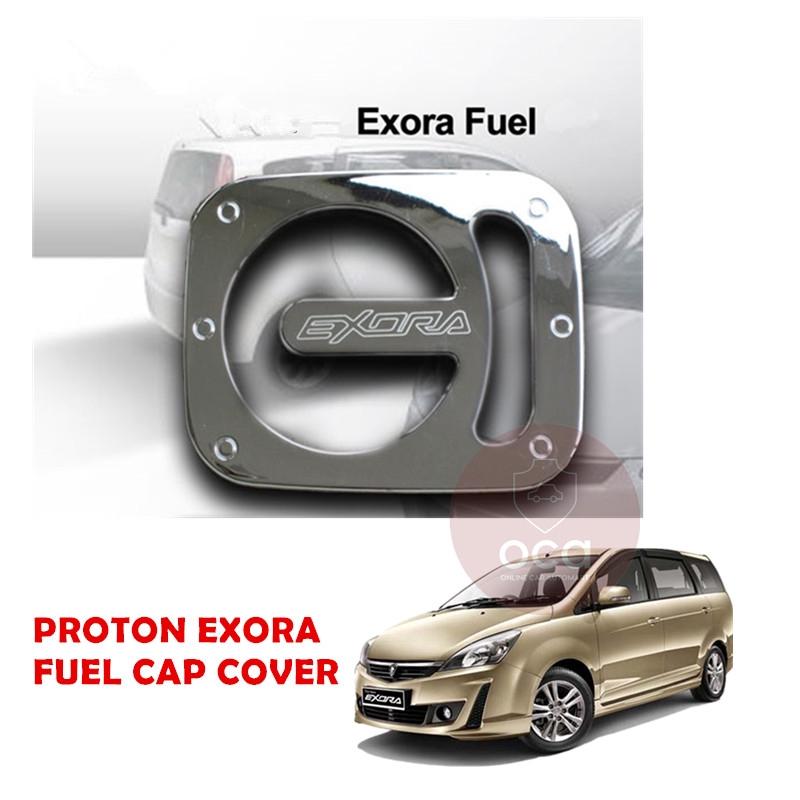 Proton Exora Fuel Cap Trim - Chrome