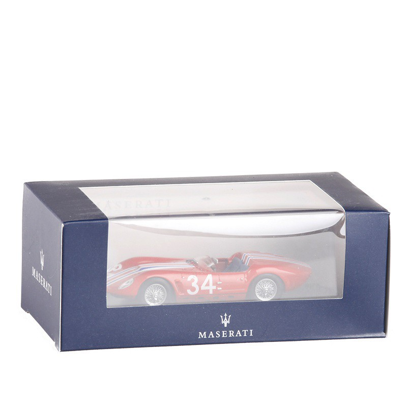 "Maserati Tipo 61 /""Drogo/"" Reims 1963 Casner 1//43  Leo Models N.022"