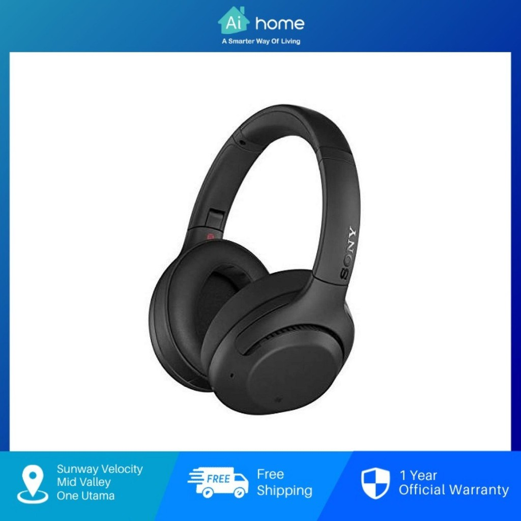 Sony WH-XB900N Wireless Noise Cancelling Headphones - Over The Ear Headphones with EXTRA BASS™ [ Aihome ]