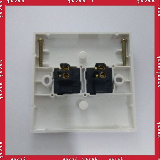 MIND 2K SERIES Flush Switches 2 Gang 1Way Switch