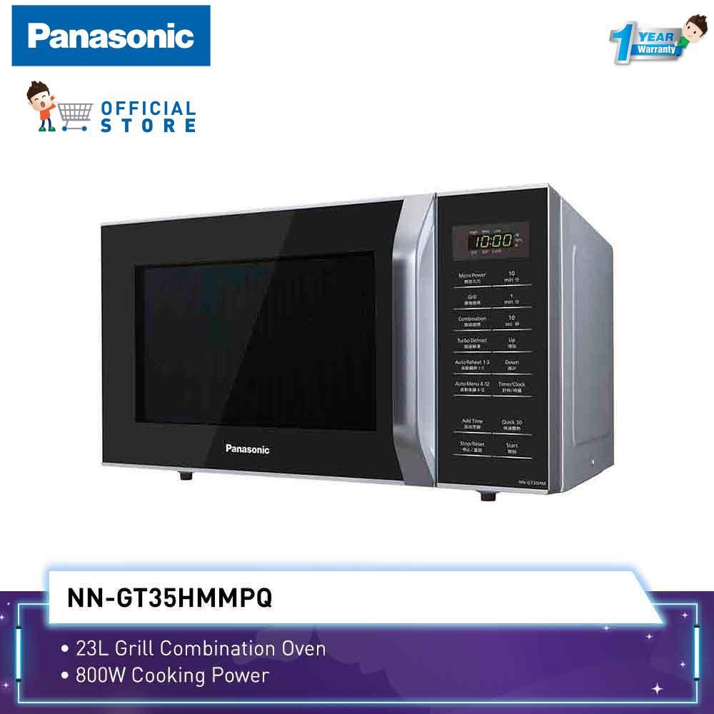 Panasonic Microwave Oven NN-GT35H (23L) Grill + 12 Auto Menu