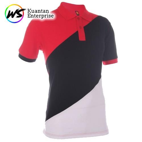 【100% Original】OREN SPORT Unisex Polo Tee - Black / Red / Royal / Magenta / Sea Blue / Milo Green HC16