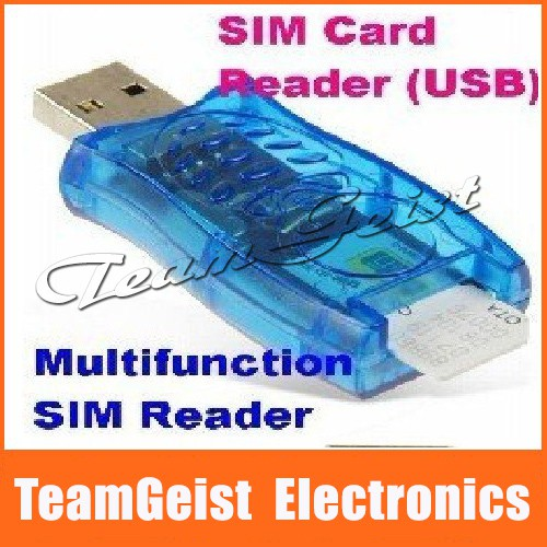 GSM+CDMA Compatible Generic SIM Card Reader USB