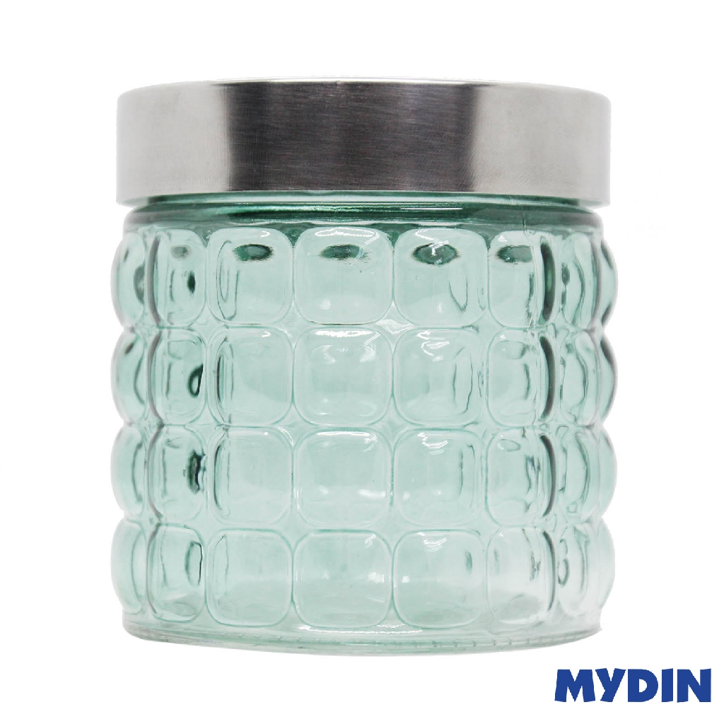 Myhome Glass Canister BP M-800BP (800ml) #Raya