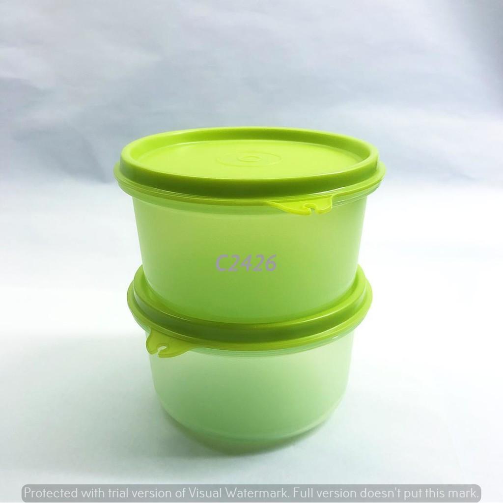 Tupperware Round Keeper set (2) 380ml