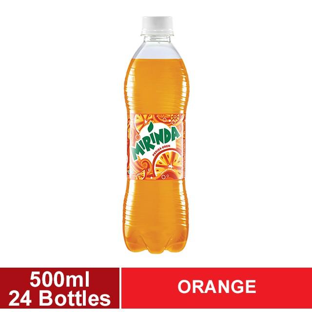 Mirinda Orange PET 1 Carton (24 x 500ml) (KL & Selangor Delivery Only)