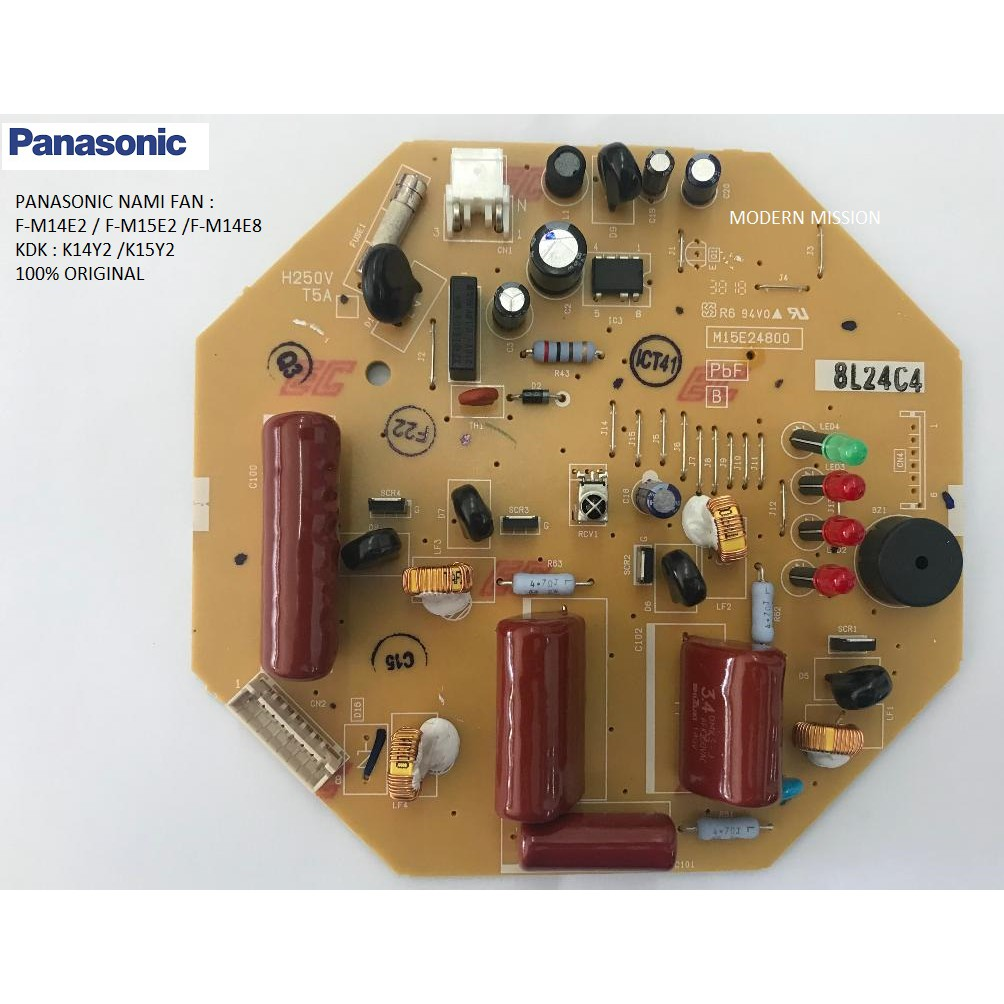 Panasonic Remote Control Ceiling Fan Circuit