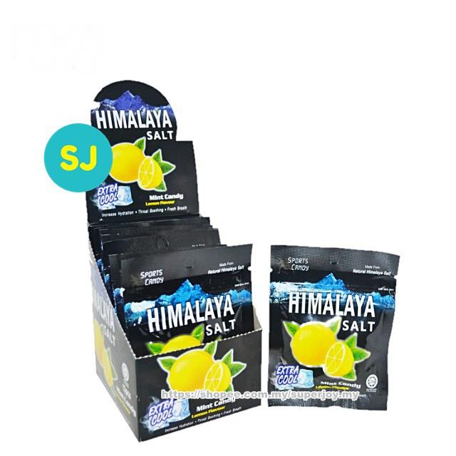 Himalaya Salt Extra Cool Mint Lemon Candy (15g x 12 Packets)