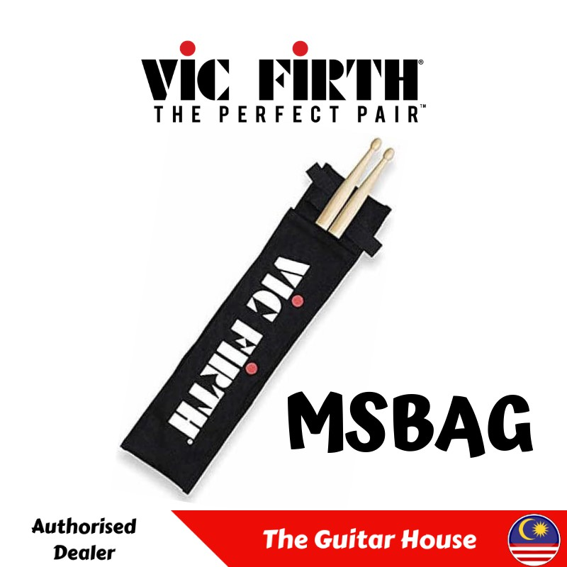 Vic Firth MSBAG Marching Snare Stick Bag for 1 pair