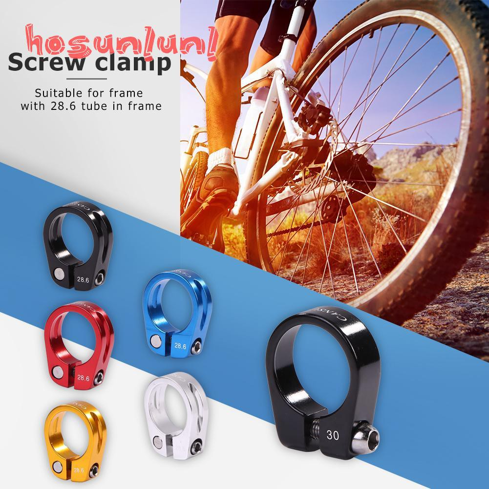 ALLOY BIKE BICYCLE SEATPOST BINDER COLLAR COLLER BOLT CLAMP 34.9 mm NEW