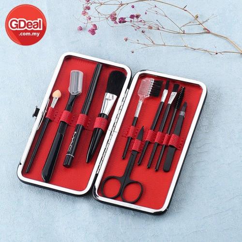 GDeal 10pcs Makeup Brush Eyebrow Beauty Tools Set (CM-2887)