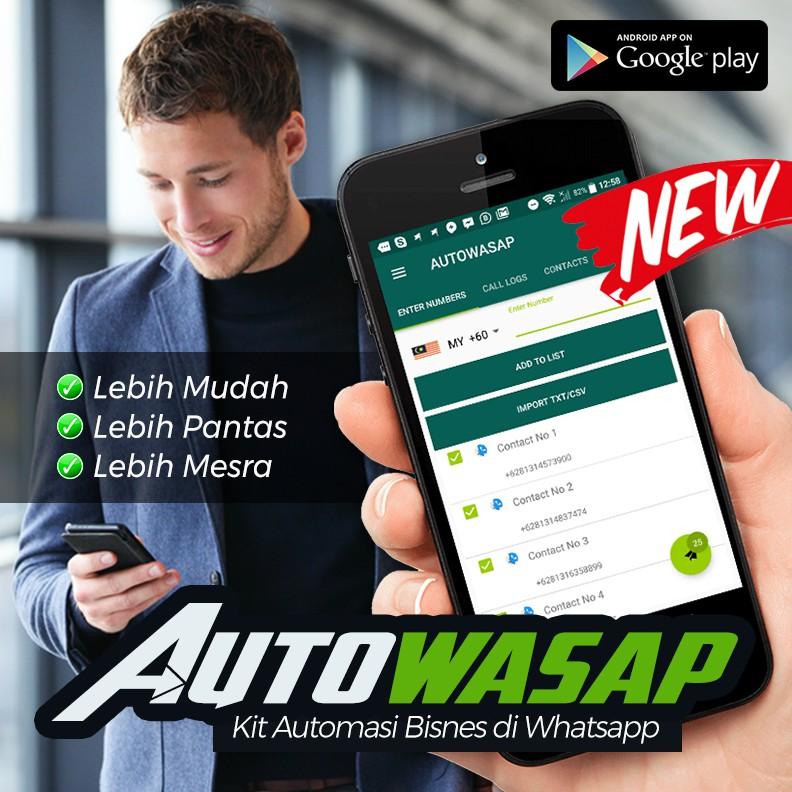 [HOT SOFTWARE] Autowasap Whatsapp Marketing Software Whatsapp Blaster Autowasap Pro Bulk Message