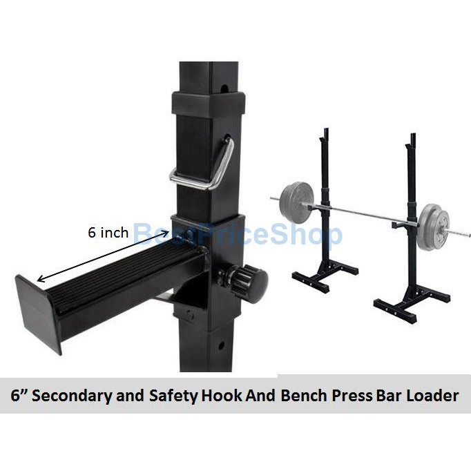 Bps 250kg Heavy Duty Weightlifting Bench Press Adjustable Barbell Stand Gym Flexible Squat Rack Jh D05