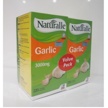 Naturalle Garlic 3000mg 220\'sX2