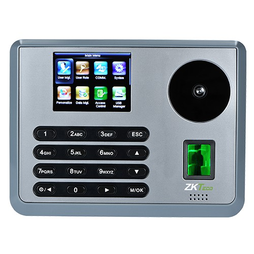 ZKT P160 Fingerprint Palmprint Attendance Machine WIFI Finger Attendance  Machine