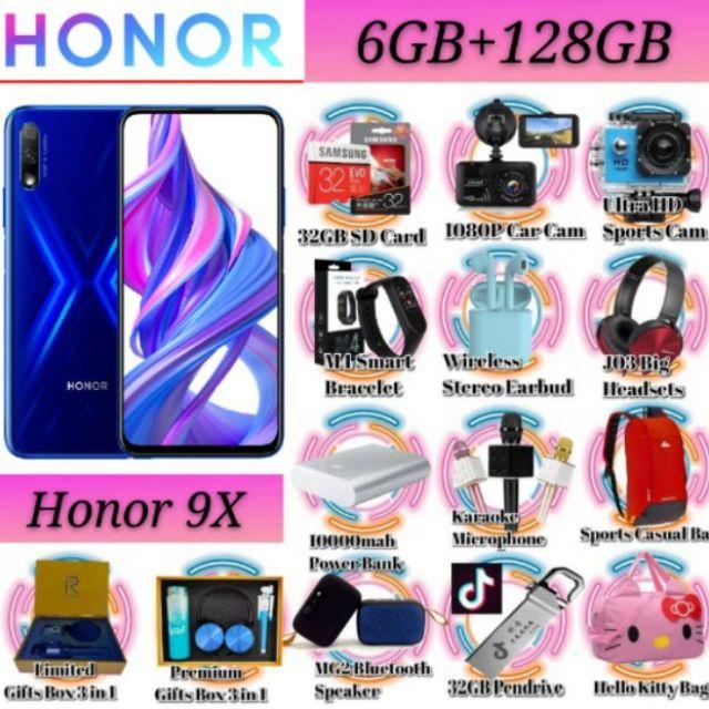 HONOR 9X [6GB+128GB]FreeGift Rm199